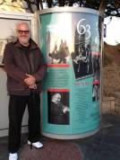 Bill at JAZZ BUS Shelter