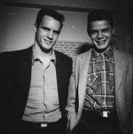 Bill with Drummer Biggie Olsen