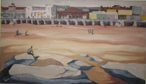 Coney Island Oil Painting1
