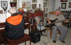 Steve and I Making Music1