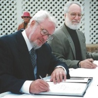 Signing books MJF