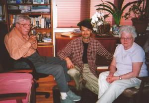 Bill, George and Maureen Minor