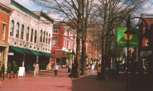 Charlottesville Mall