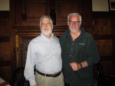 Greg and I