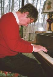 Tom Hagerty at Piano