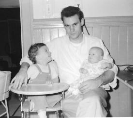 Bill as Dad with Tim and Baby Steve