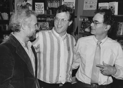Bill with George Fuller and Robert Sward