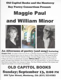 Maggie Paul and William MInor Flyer
