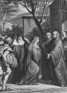 Abelard and Heloise at Paraclete