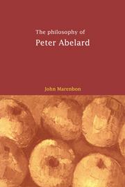 Abelard philosophy