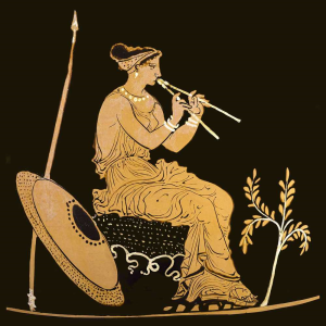 Ancient Greek double flute
