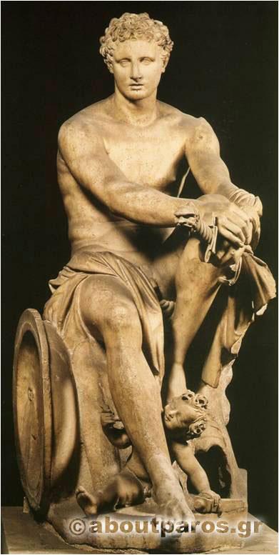 archilochus statue 2