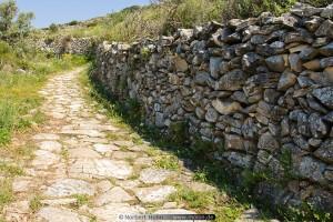 Byzantine Road Paros