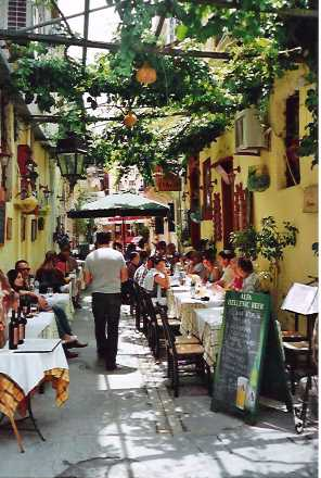 Street scene in Rethymnon 2