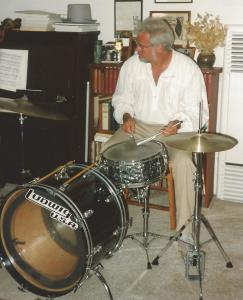 Bill at drums