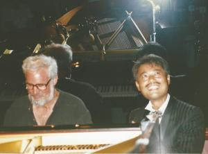 Bill at Piano with Kotaro