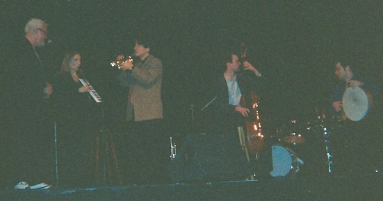 Bill with Tiger Okoshi Quartet 2