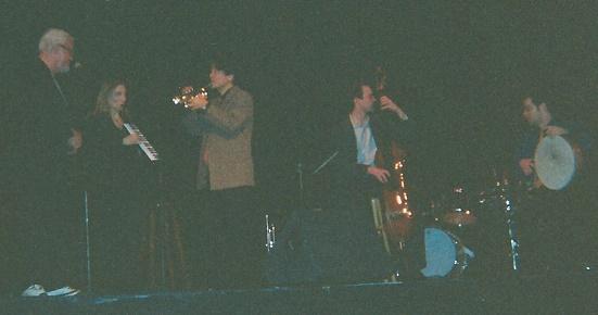 Bill with Tiger Okoshi Quartet 2
