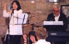 Bill with Yoko Singing