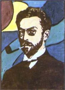 Kandinsky portrait by Gabriele Munter