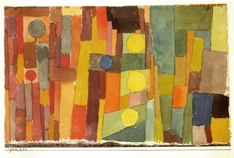 Paul Klee painting 1