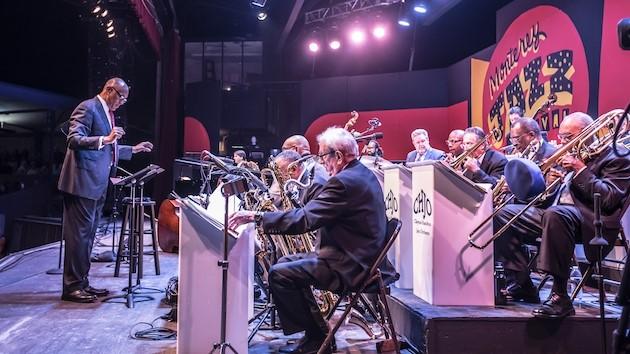 John Clayton conducting entire Big Band