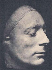 john keats life mask by benjamin haydon