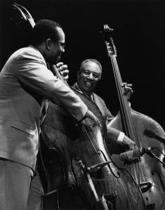 ray brown and christian mcbride at mjf
