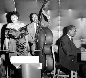 ray brown and hank jones with ella 1948 (2)