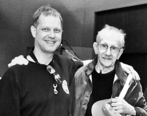 Phillip Levine with Benjamin Boone 2