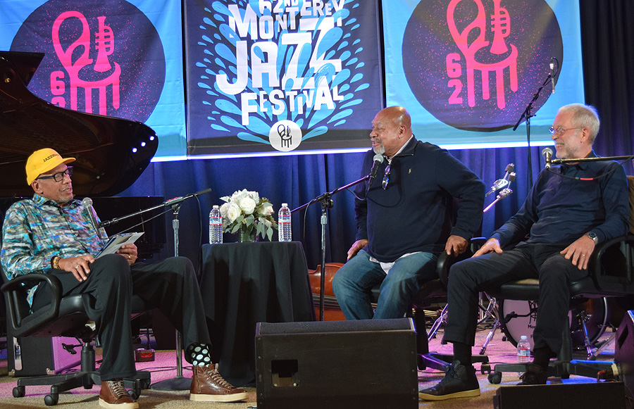 Kenny Barron and Dave Holland with Willard Conversation Voice and Viewpoint
