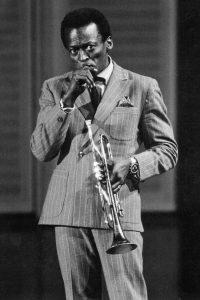 Miles Davis British GQ mag photo