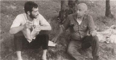 Thomas Merton The Jazz Monk with Vibraphonist Dick Sisto