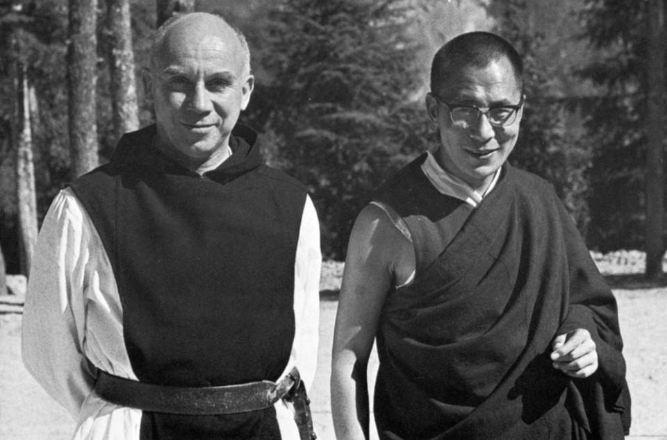 Thomas Merton with the Dalai Lama National Catholic Reporter