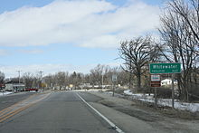 This image has an empty alt attribute; its file name is whitewater_wisconsin_sign_wis59.jpg